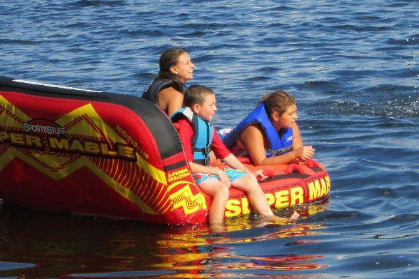 Boat Rentals at Shoreline Camps, Grandlake Stream, Maine